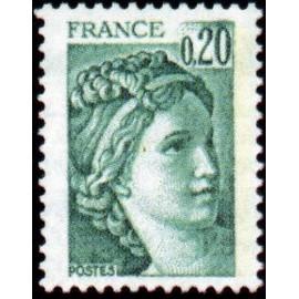 France Yvert Num 1967 ** Sabine  1978
