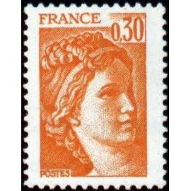France Yvert Num 1968 ** Sabine  1978