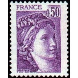 France Yvert Num 1969 ** Sabine  1978