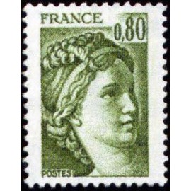 France Yvert Num 1970 ** Sabine  1978