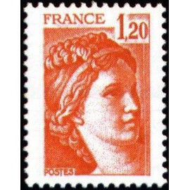 France Yvert Num 1974 ** Sabine  1978