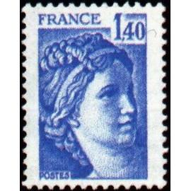France Yvert Num 1975 ** Sabine  1978