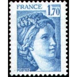 France Yvert Num 1976 ** Sabine  1978