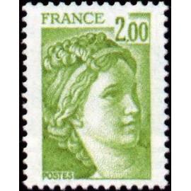 France Yvert Num 1977 ** Sabine  1978