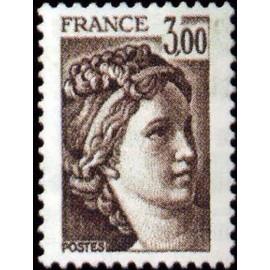 France Yvert Num 1979 ** Sabine  1978