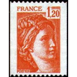 France Yvert Num 1981B ** Roulette Sabine  1978