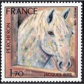 France Yvert Num 1982 ** Cheval par Birr  1978
