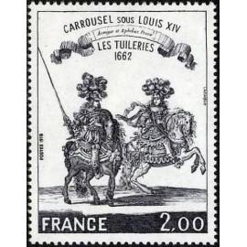France Yvert Num 1983 ** Tableau Carrousel  1978
