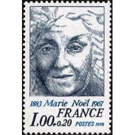 France Yvert Num 1986 ** Marie Noël  1978