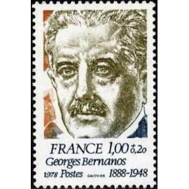 France Yvert Num 1987 ** Georges Bernados  1978