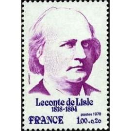 France Yvert Num 1988 ** Leconte de Lisle  1978