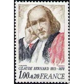 France Yvert Num 1990A ** Claude bernard  1978