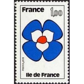 France Yvert Num 1991 ** Ile de France  1978