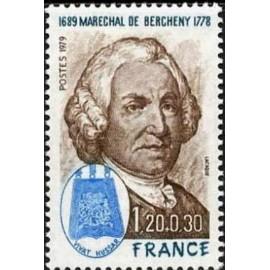 France Yvert Num 2029 ** de Bercheny  1979