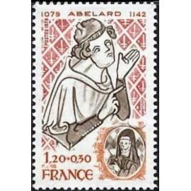 France Yvert Num 2031 ** Pierre Abélard  1979