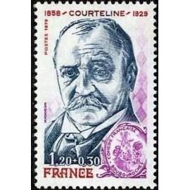 France Yvert Num 2032 ** Courteline  1979