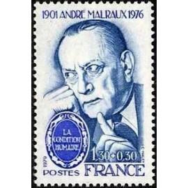 France Yvert Num 2032B ** André Malraux  1979