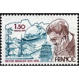 France Yvert Num 2034 ** Victor Segalen  1979