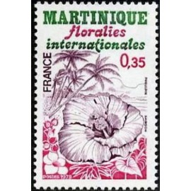 France Yvert Num 2035 ** Floralies Martinique  1979