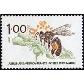 France Yvert Num 2039 ** Abeille  1979