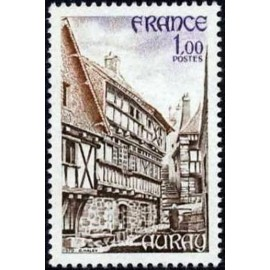 France Yvert Num 2041 ** Auray Morbihan  1979