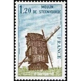 France Yvert Num 2042 ** Moulin nord  1979