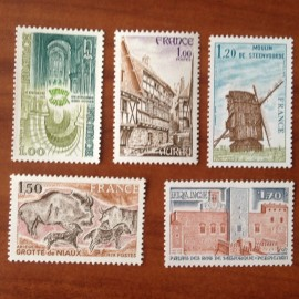 France Yvert Num 2040-2044 **   1979