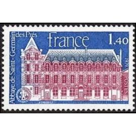 France Yvert Num 2045 ** St Germain des près  1979