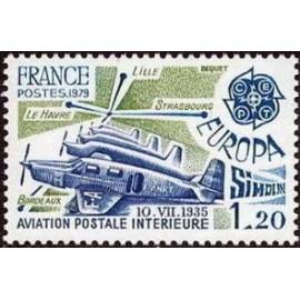 France Yvert Num 2046 ** Europa   1979