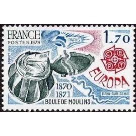 France Yvert Num 2047 ** Europa   1979
