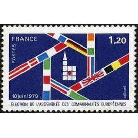France Yvert Num 2050 ** Europe  1979