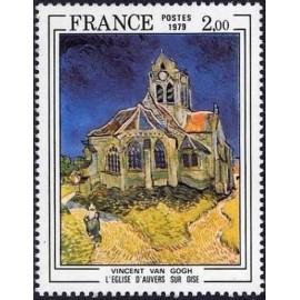 France Yvert Num 2054 ** Tableau Van Gogh  1979
