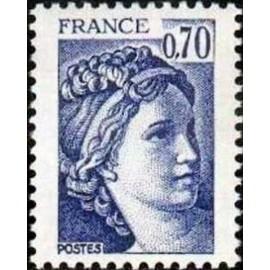 France Yvert Num 2056 ** Sabine  1979