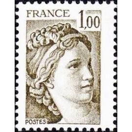 France Yvert Num 2057 ** Sabine  1979