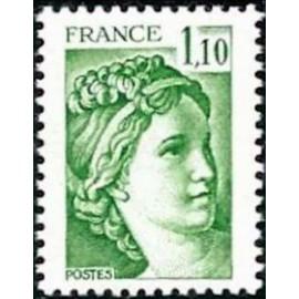 France Yvert Num 2058 ** Sabine  1979