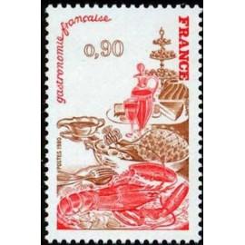 France Yvert Num 2077 ** Gastronomie  1980