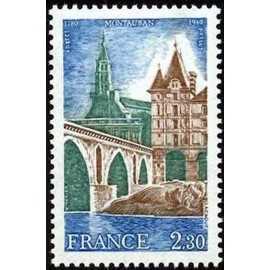 France Yvert Num 2083 ** Montauban  1980