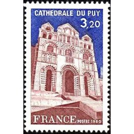 France Yvert Num 2084 ** Cathedrale du Puy  1980