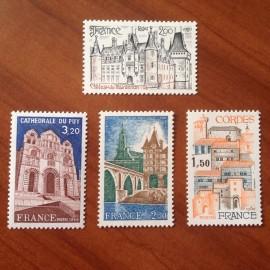 France Yvert Num 2081-2084 **   1980