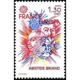 France Yvert Num 2085 ** Europa   1980