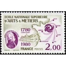 France Yvert Num 2087 ** Arts et Metiers  1980