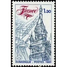 France Yvert Num 2088 ** Dunkerque  1980