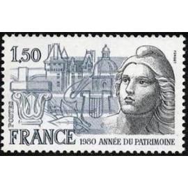 France Yvert Num 2092 **   1980