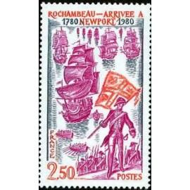 France Yvert Num 2094 ** Rochambau  1980