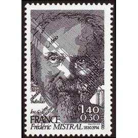 France Yvert Num 2098 ** Frederic Mistral  1980