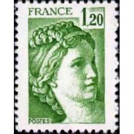 France Yvert Num 2101 ** Sabine  1980