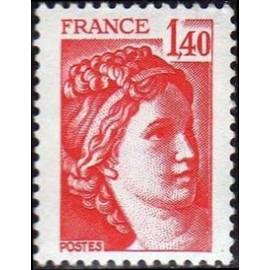 France Yvert Num 2102 ** Sabine  1980