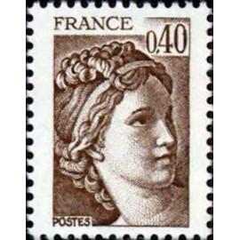 France Yvert Num 2118 ** Sabine 0,4 1981