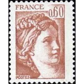 France Yvert Num 2119 ** Sabine 0,6 1981