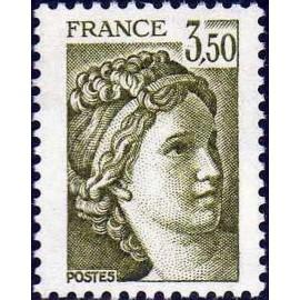 France Yvert Num 2121 ** Sabine 3f50 1981